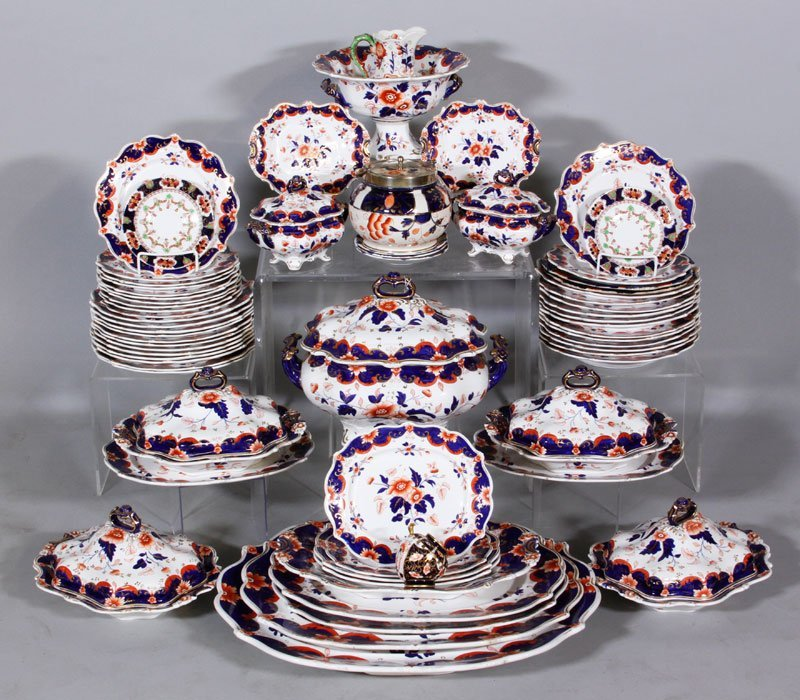 Large Group of Royal Crown Derby Imari China