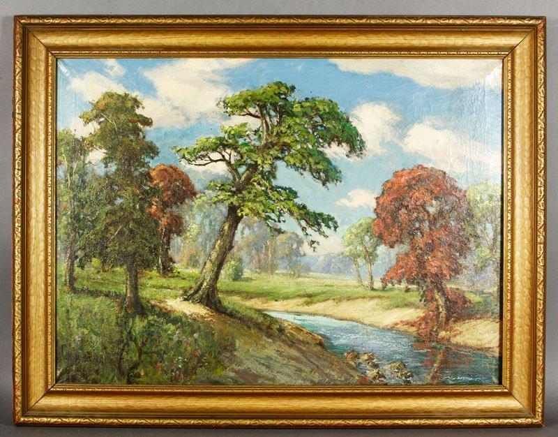 Becker, Landscape, O/C