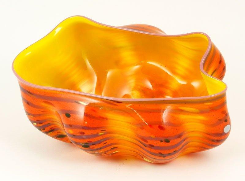 Chihuly, Macchia Glass Studio Bowl