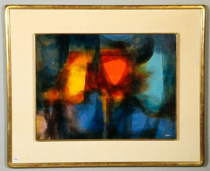 Neirman, Abstract in Color, O/M