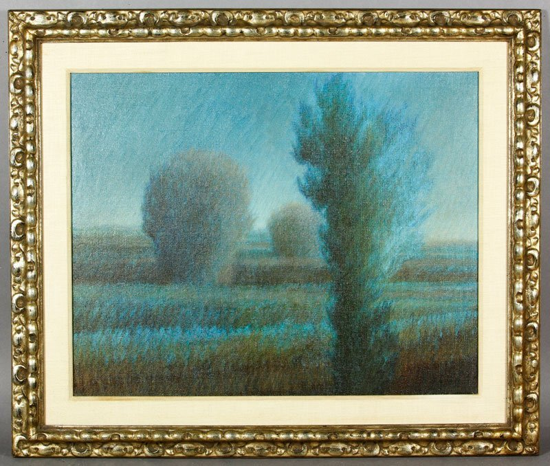 "Kipniss, ""Untitled Landscape,"" O/C"