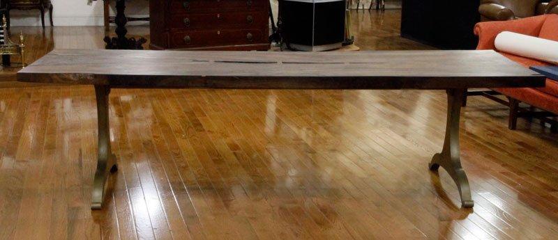 Designer Rosewood Plank Table
