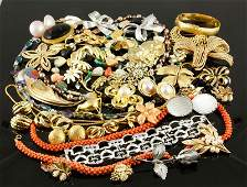 Large Collection of Costume Jewelry