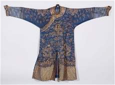 Chinese Qing Embroidered Summer Robe