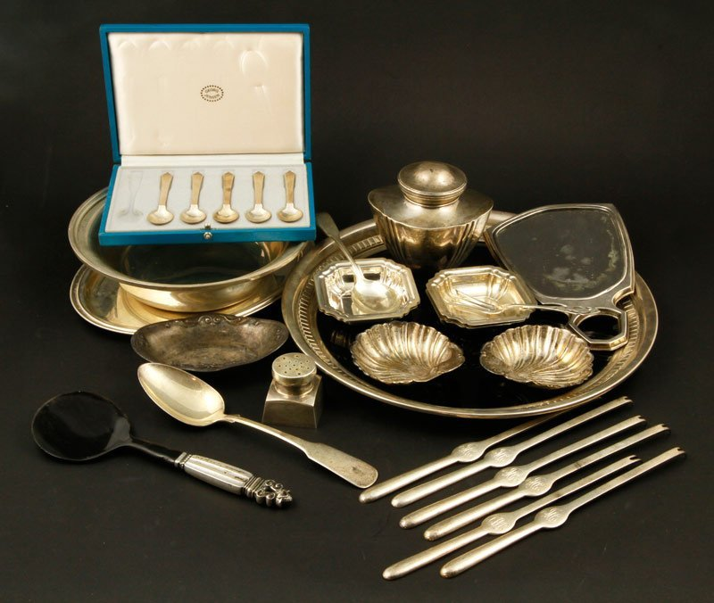 Misc. Sterling Hollowware and Flatware