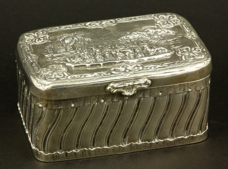 Early 19th C. Continental Silver Box