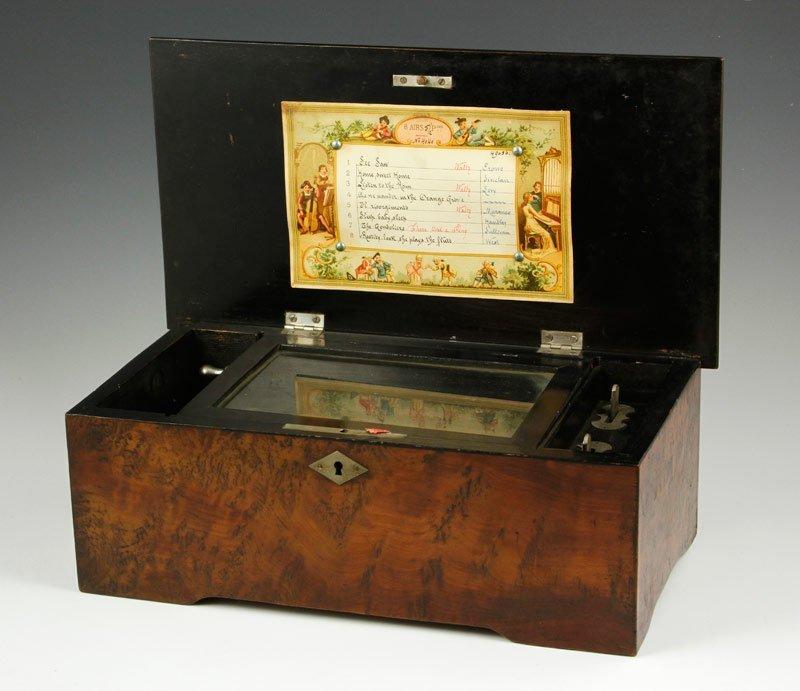 Late 19th C. Swiss Music Box