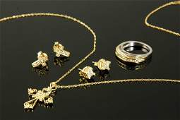 Diamond and Gold Jewelry Collection