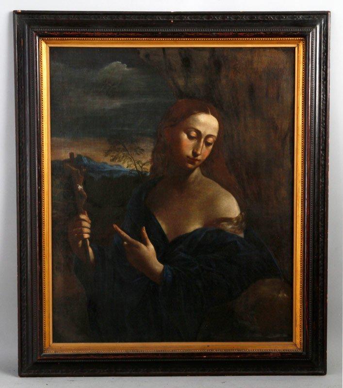 Old Master, Mary of Magdalene, O/C