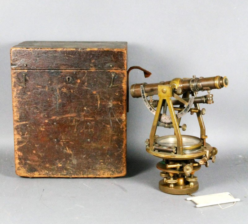 W. & L. E. Gurley Brass Sextant
