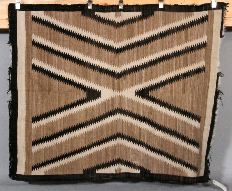 5 Late 19th C./Early 20th C. Navajo Rugs