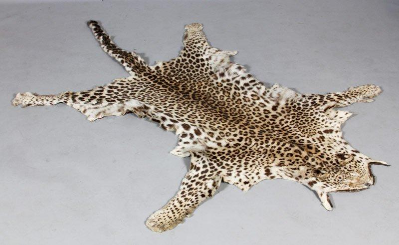 Vintage Leopard Skin Carpet