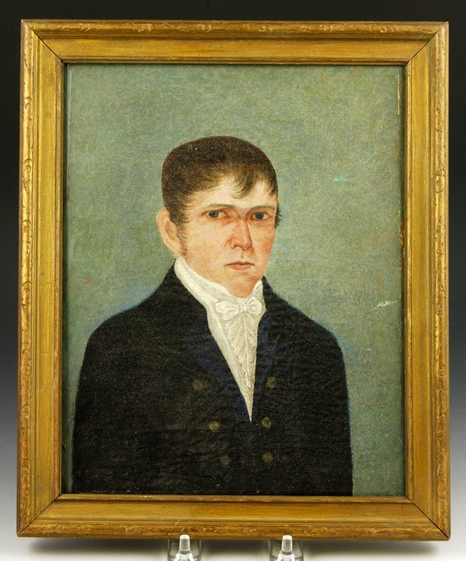 Late 18th C./Early 19th C., Portrait, O/C