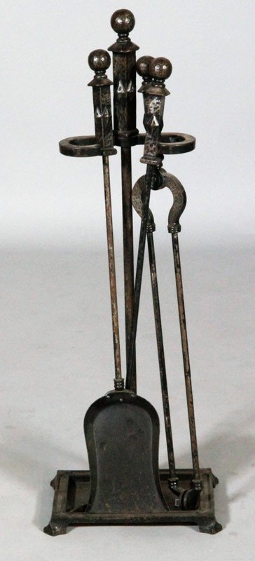 Bradley and Hubbard Fireplace Tools
