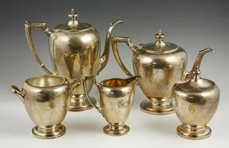 Dominick and Haff Sterling Tea and Coffee Set