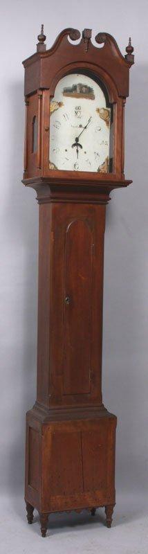 18th C. Pennsylvania Tall Clock