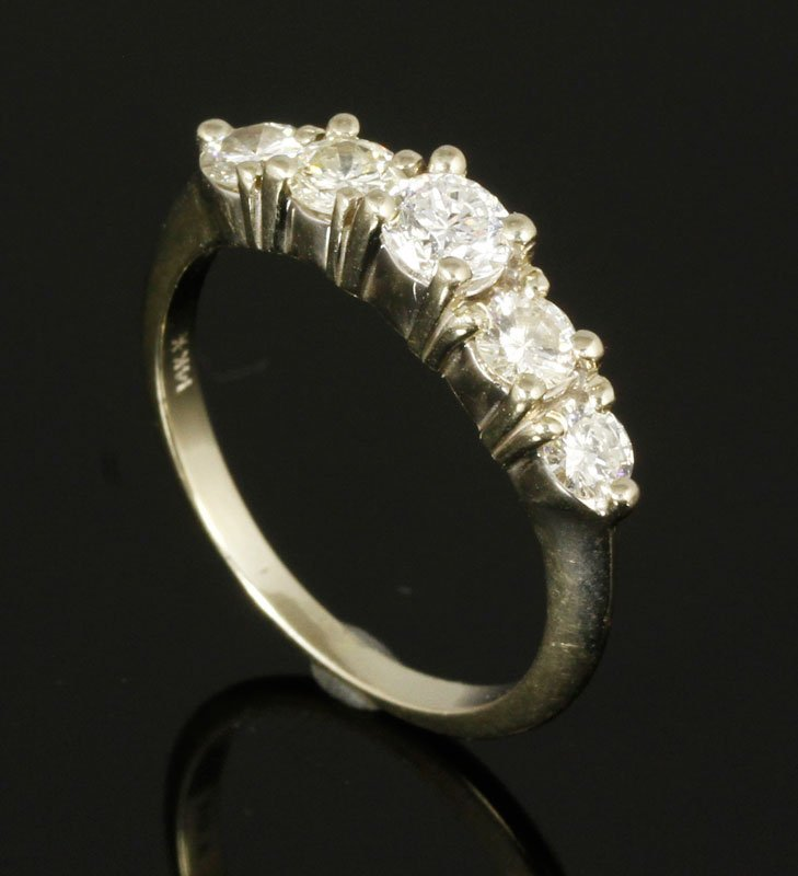 Ladies 14K Gold and Diamond Ring