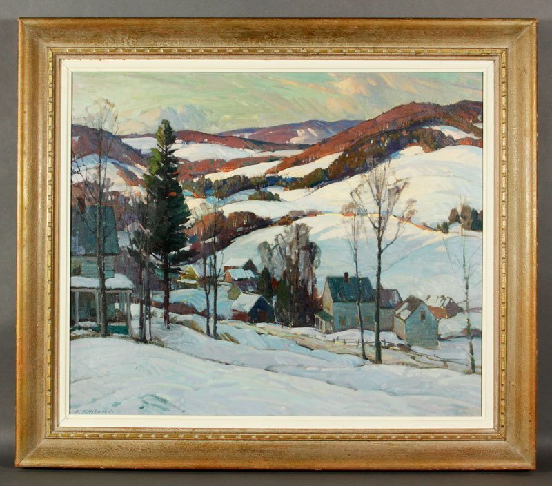 "Hibbard, ""Road to Derry VT"", O/C"