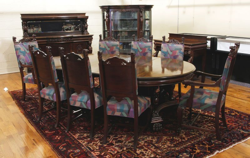 Horner Brothers Mahogany Dining Set