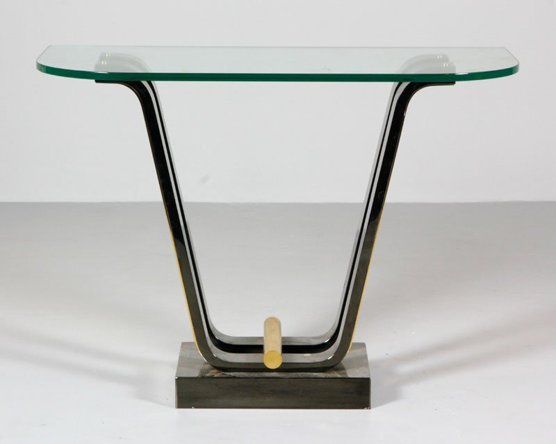 Karl Springer Tulip Console Table