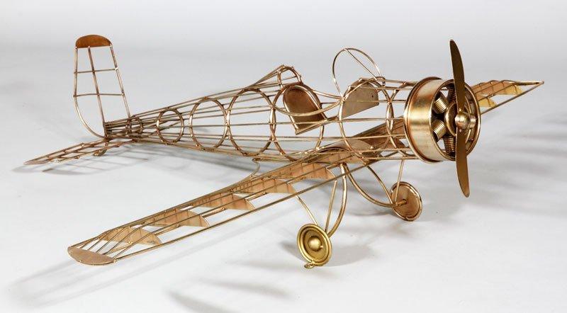 Jere Airplane Sculpture
