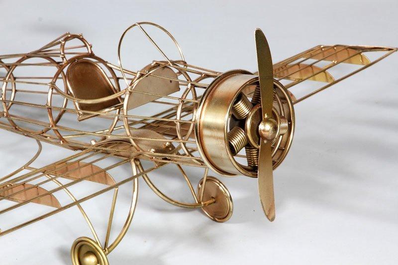 Jere Airplane Sculpture - 2