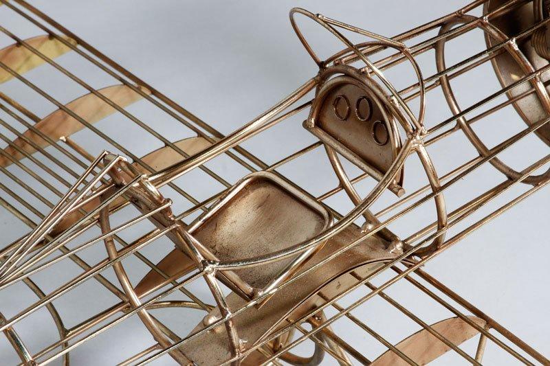 Jere Airplane Sculpture - 3