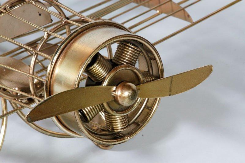 Jere Airplane Sculpture - 5