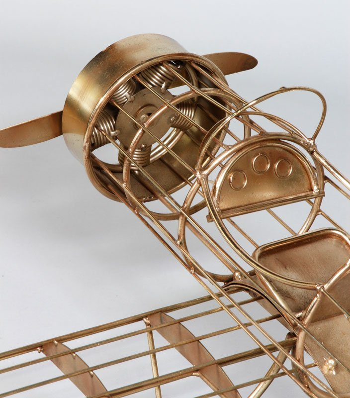 Jere Airplane Sculpture - 7