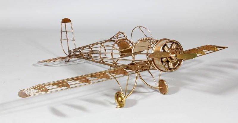 Jere Airplane Sculpture - 9