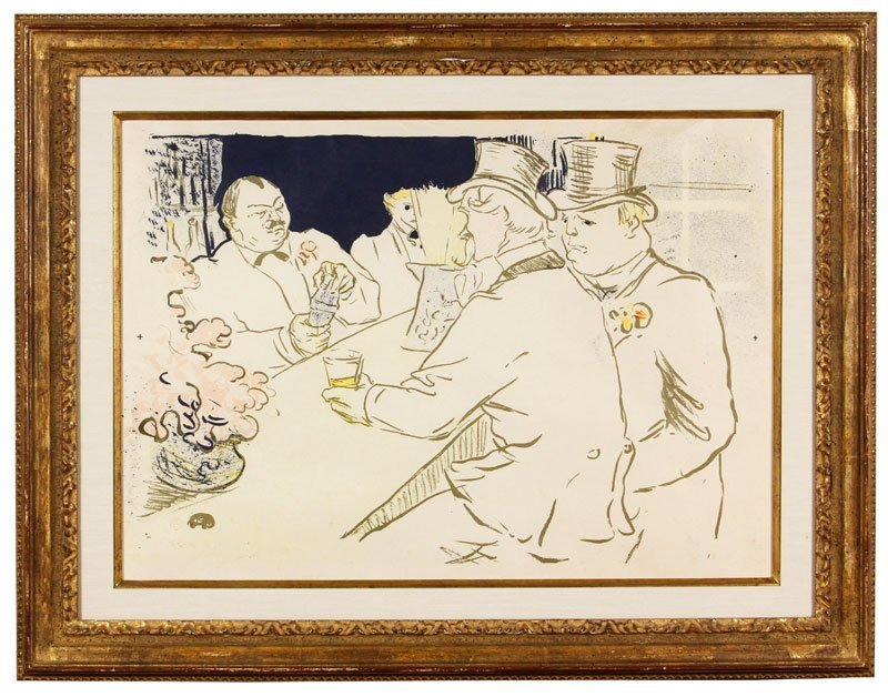 "Toulouse-Lautrec, ""The Irish American Bar""/""The Chap"