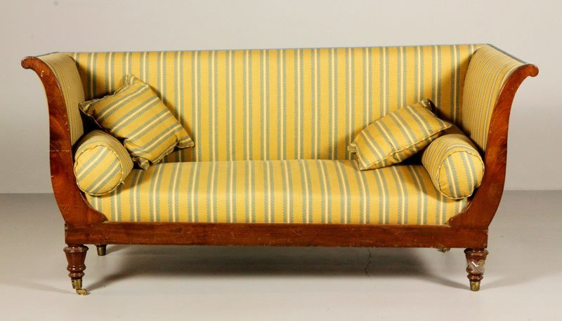 French Empire Style Sofa