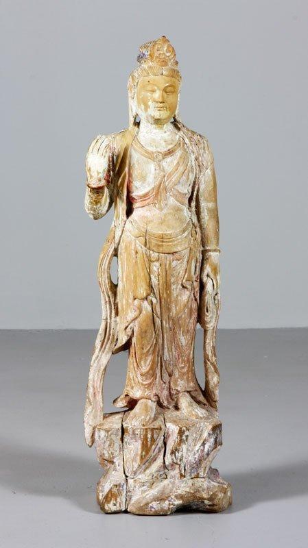 Carved Buddha Statue