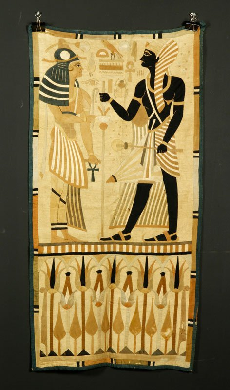 18th C. Egyptian Tapestry