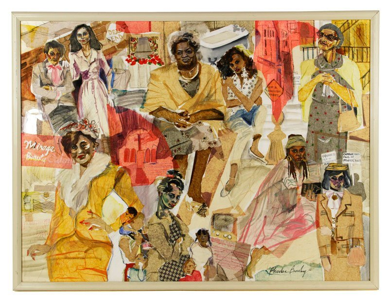"Beasley, ""The Women of Brewster Place,"" Collage"