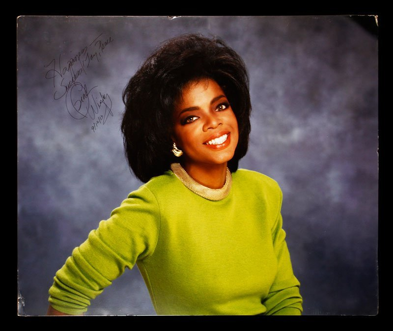 Enlarged Portrait of Oprah Winfrey