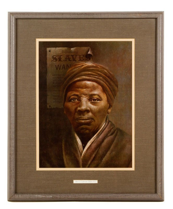 Portrait Harriet Tubman, Lithograph