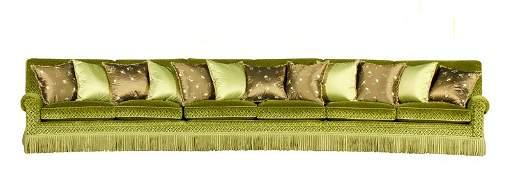 Custom Home Theater Sofa