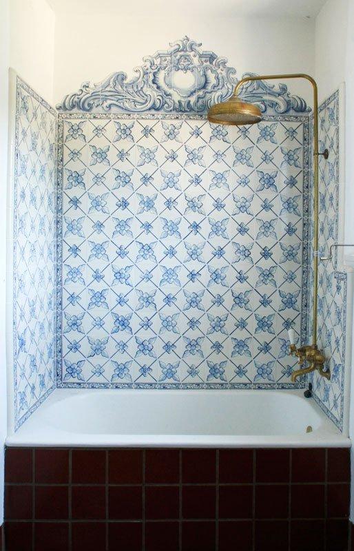Portuguese Blue and White Tile