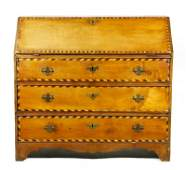 Late 18th/ Early 19th C. Chippendale Slant Lid Desk