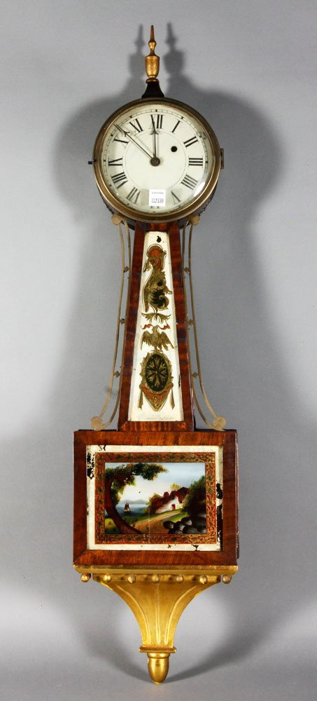Boston Banjo Clock