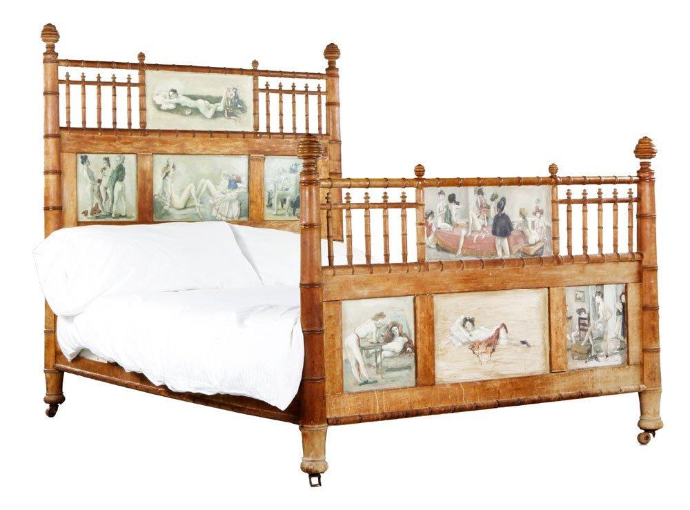 Brook, Painted Brothel Bed