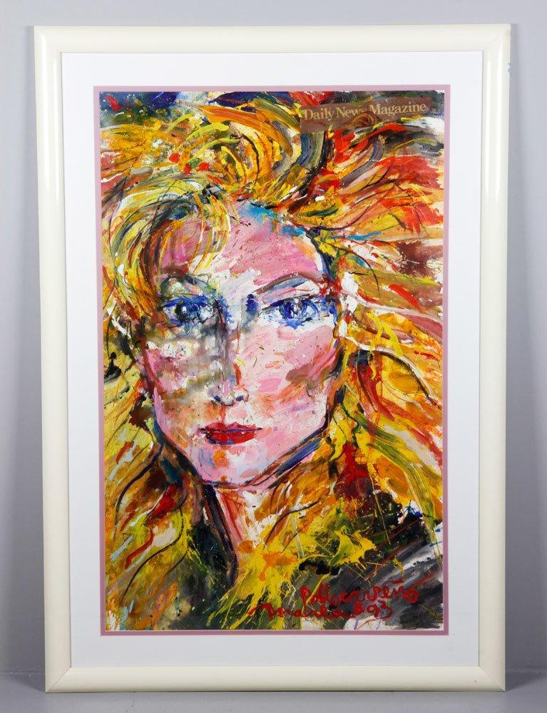 Carreno, Marla Maples Portrait, A/P