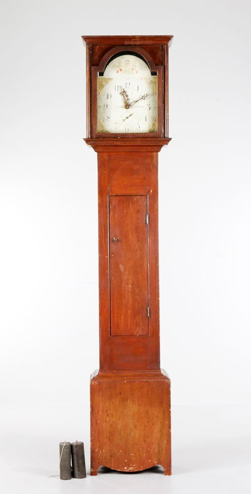 18th C. R Whiting Winchester Tall Clock