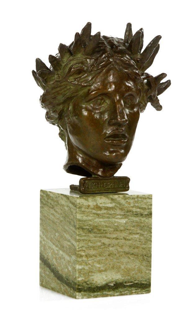 Saint-Gaudens, Sculpture of Nike-Eirene, Bronze