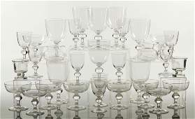 Lot of 32 pieces of Steuben Crystal