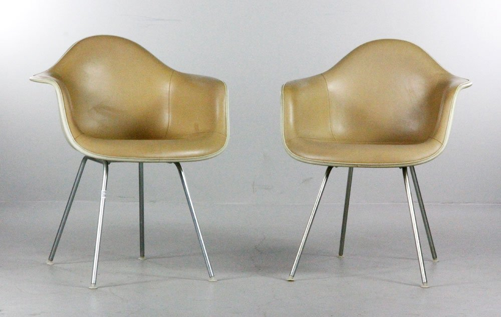 Pair Eames For Herman Miller Armchairs