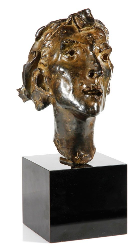 "Aronson, ""False Messiah"", Bronze Bust"