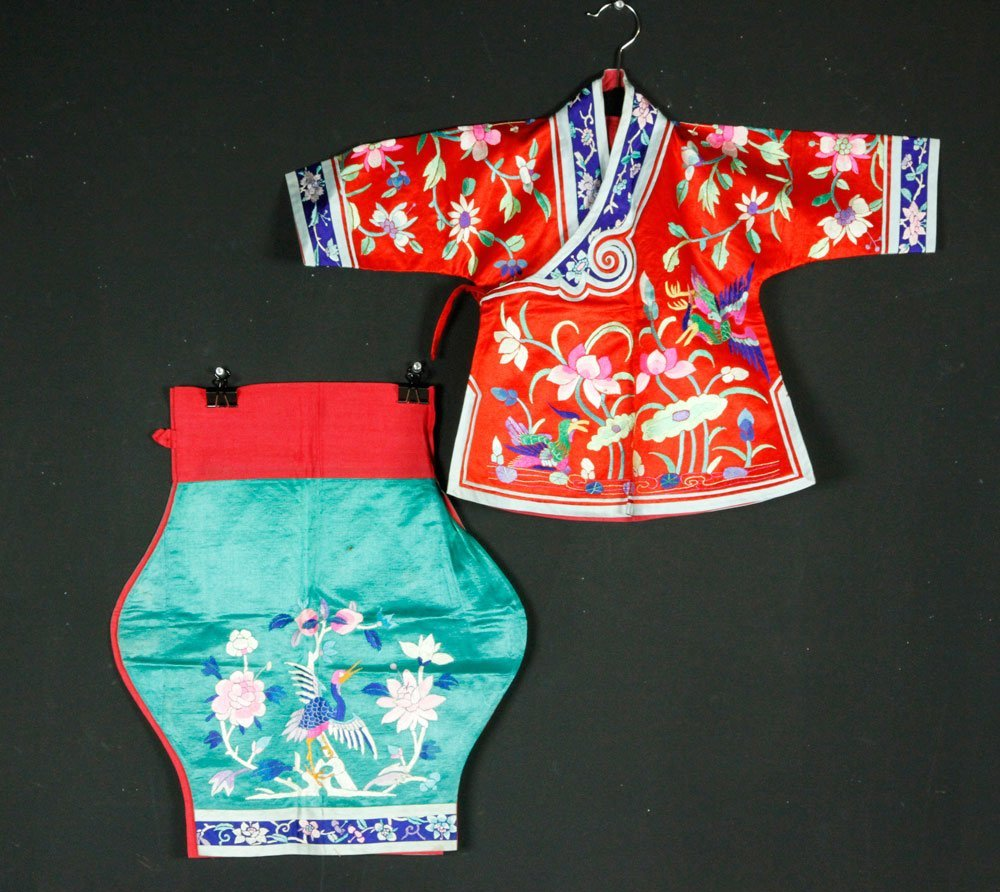 Chinese Antique Children's Clothes