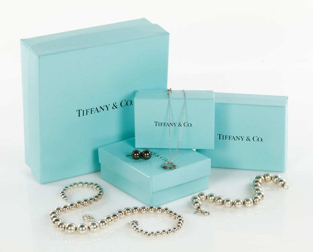 Lot of 4 Tiffany and Co. Jewelry Items